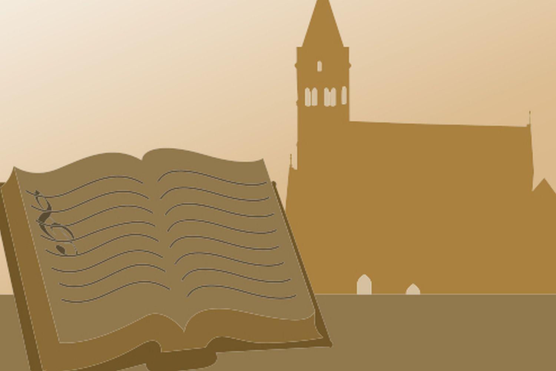 Symbol für Standardführungen in Kloster Lorch; Illustration: Staatliche Schlösser und Gärten Baden-Württemberg, JUNG:Kommunikation GmbH
