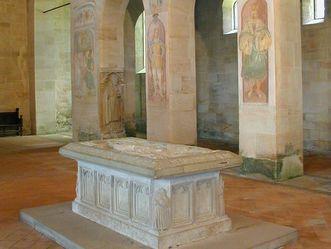 Monastère de Lorch, Tombeau