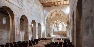 Kloster Lorch, Mittelschiff der Klosterkirche
