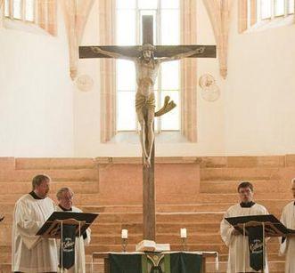 Passionskonzert in der Klosterkirche Lorch; Foto: Staatliche Schlösser und Gärten Baden-Württemberg, Roland Schwarz