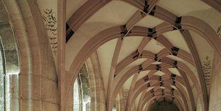 Net vault of the cloister, Lorch Monastery