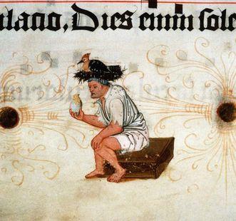 Detail der Chorbücher