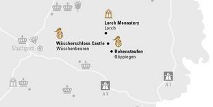 """journey map """"Eastern jura mountains & Göppingen"""""""