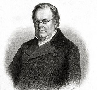 Albert Knapp, engraving by P. Barfus. Image: Landesmedienzentrum Baden-Württemberg, Ernst Surkamp