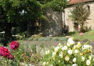 Kräutergarten im Kloster Lorch
