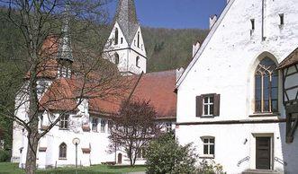 Außenansicht des Klosters Blaubeuren