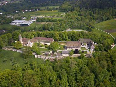 Kloster Lorch von oben