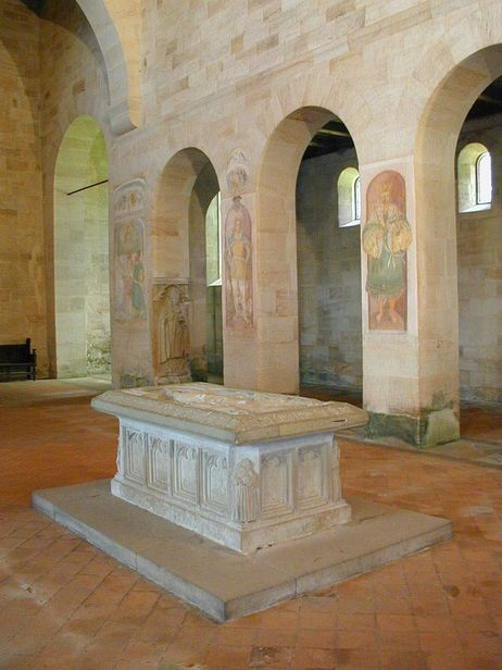 Lorch monastery, Table tomb, a freestanding tomb in the monastery church